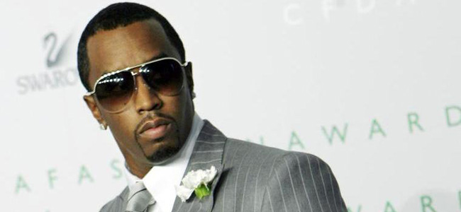 Diddy had a stranger in his house