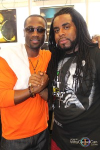 Q (from 112) and Tobago (DBS Sounds Owner)