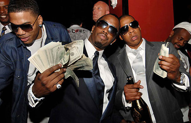 Diddy, Jay Z, Dr. Dre, 50 Cents