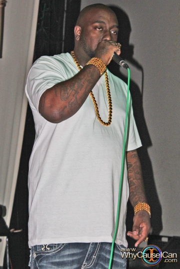 Trae Tha Truth At His Speakeasy For His Mixtape The Blackprint at Tree Sound Studios