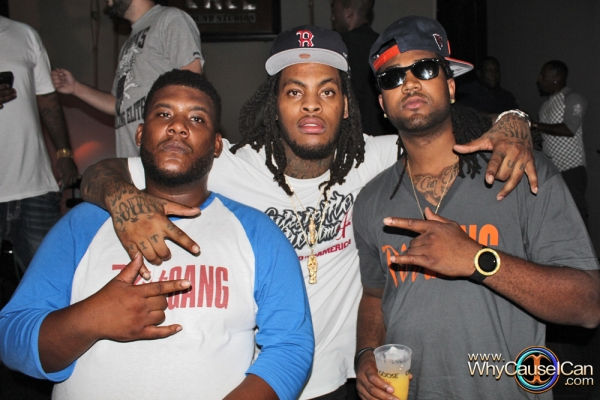 D Bo, Waka Flocka Flame and Dae Dae At Trae Tha Truth's Speakeasy For His Mixtape The Blackprint at Tree Sound Studios