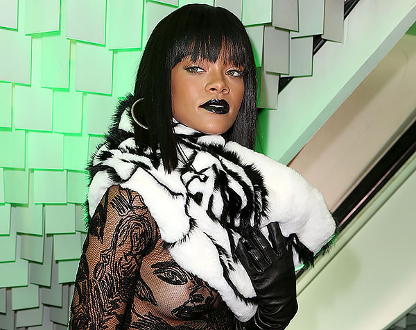 Rihanna, Paris Fashion week,