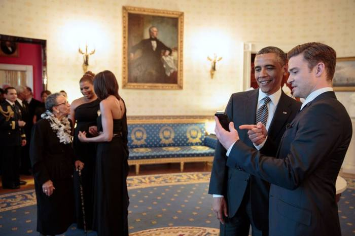 Barack Obama, Justin Timberlake