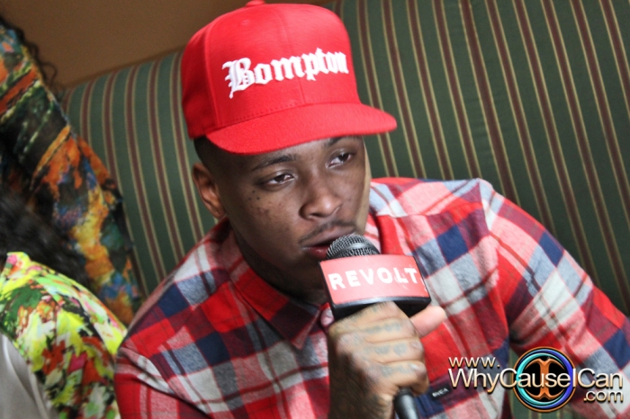 YG, My Krazy Life, DJ Mustard, Mishon, Two9, DJ Baby Yu, Jacquees, Trinidad James, Lil Bibby, Bambi