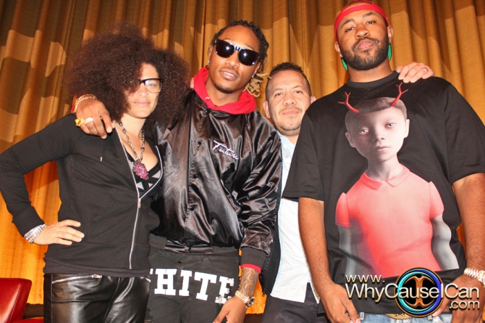future, Elliott Wilson, #CRWN, DJ Smallz, Mali Hunter, Mike Will Made It