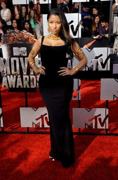 Nicki Minaj, 2014 MTV Movie Awards, Red Carpet