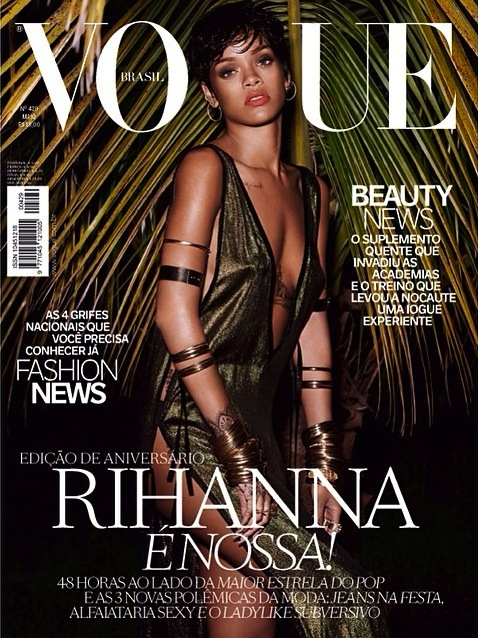 Rihanna, Vogue, photoshoot