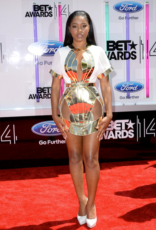 Bet Awards, Red Carpet, Keke Palmer on Red Carpet, Tytiana Ali, Ashanti, Sage the Gemini, Tinashe, Travis Barker, Nelly, T.I., Sevyn Streeter,
