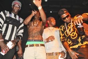 Jeezy, Young Thug, Rich Homie Quan, Birdman, DJ Greg Street, Slick Pulla, whycauseican