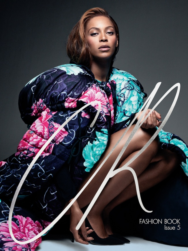 Beyonce on the cover of CR Fashionbook Issue 5