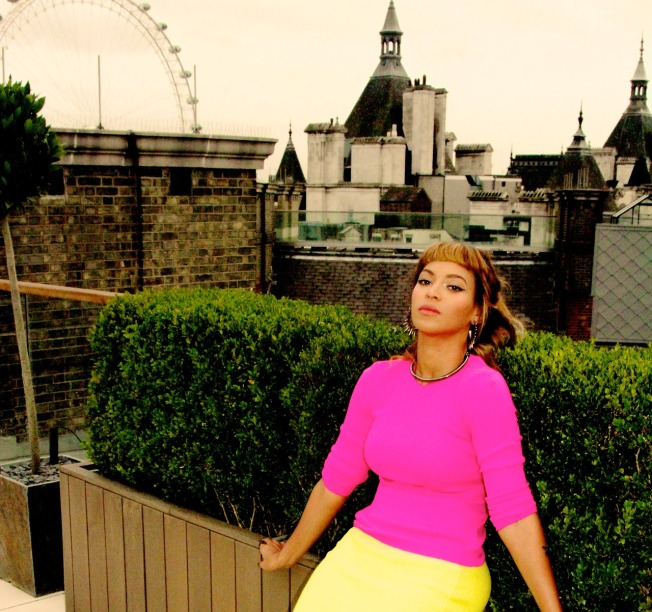 Beyonce and Topshop partner together