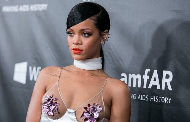 AmfAR, Rihanna,