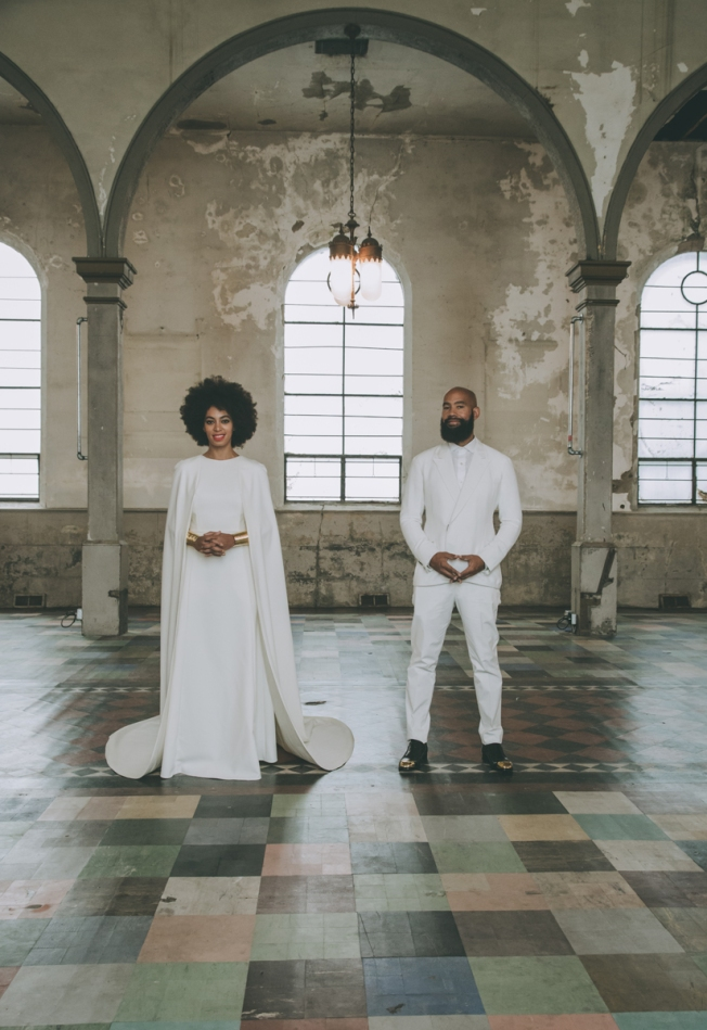 Solange Knowles and Alan Ferguson wed in New Orleans Image by Rog Walker