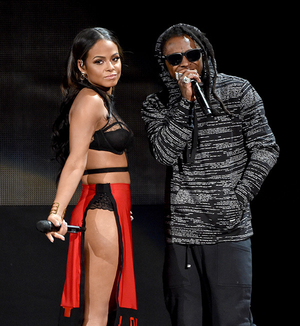 Christina Milan & Lil Wayne | Photo by Kevin Winter/Getty Images
