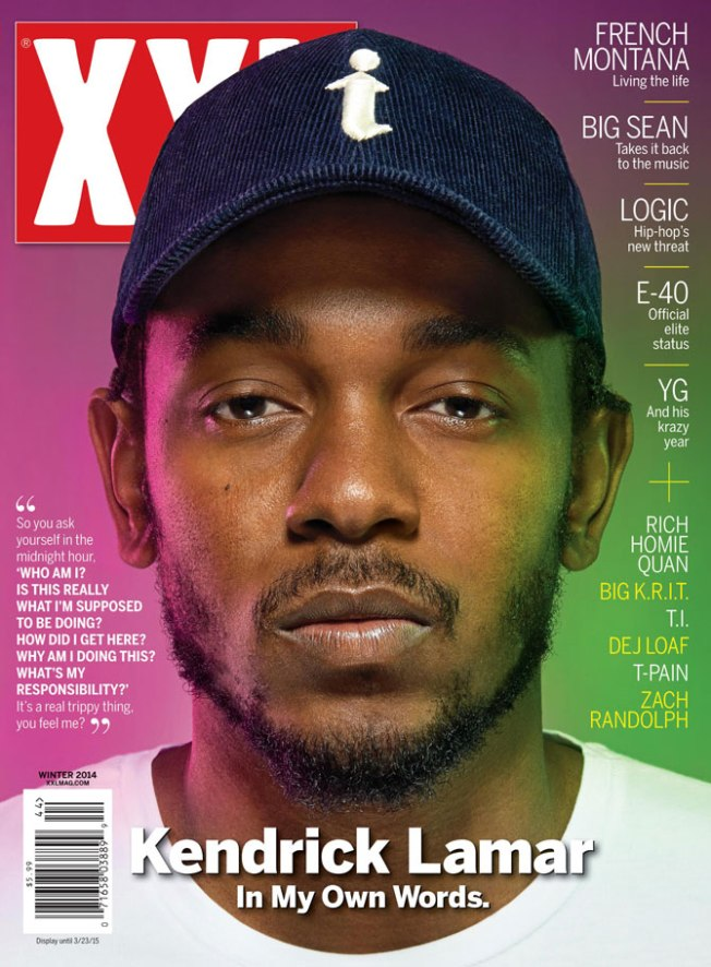 Kendrick Lamar, XXL Cover