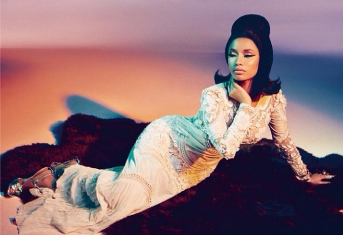 Nicki Minaj, Roberto Cavalli, fashion