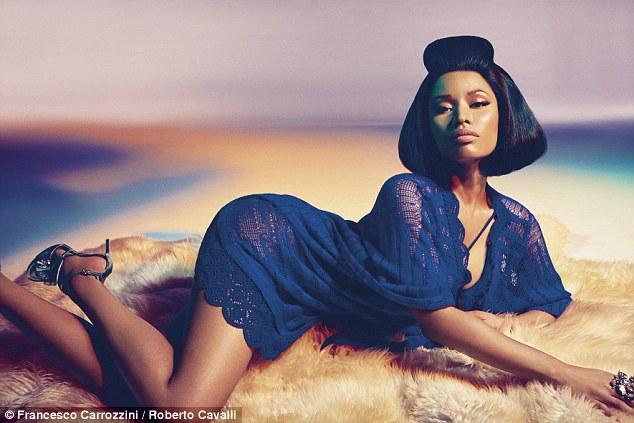 Nicki Minaj, Roberto Cavalli, fashion