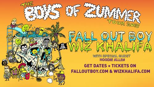 Fall Out Boy, Wiz Khalifa