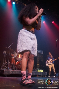 SZA concert in Atlanta, anightwithsza, a night with sza