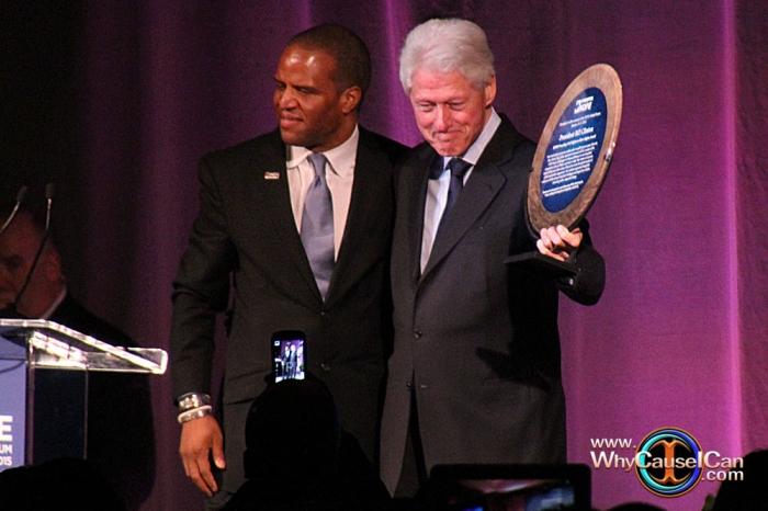 Former President, Bill Clinton, John Hope Bryant