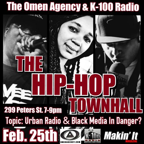K100 Radio, Blizm, Renee The G, The Hip Hop Town Hall