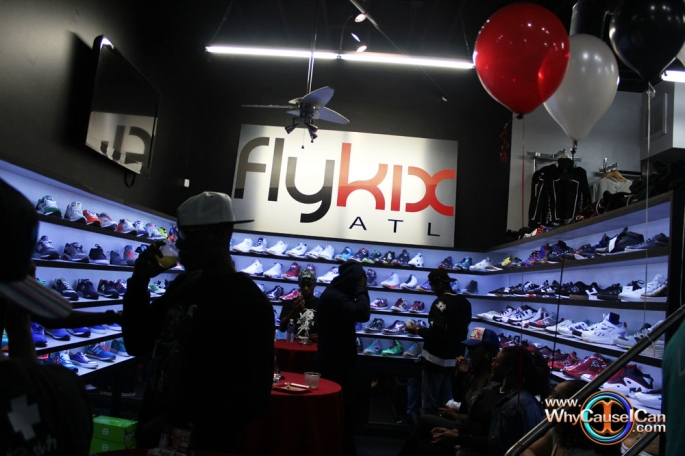 Fly Kix clothing store in Atlanta