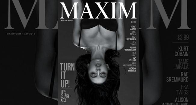 Charlie XCX, Maxim magazine cover