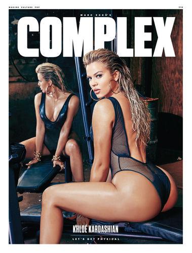 Khloe Kardashian Complex magazine cover
