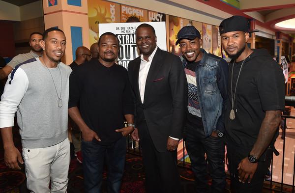 Straight Outta Compton Atlanta premiere