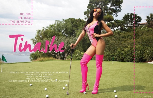 Tinashe For Kode Magazine