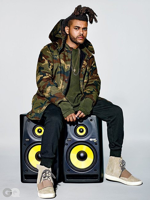 The Weeknd 'Yeezy' Collection for GQ