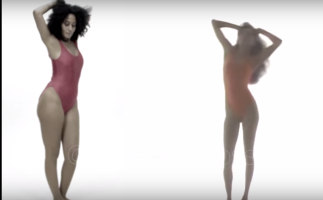 "Video: Tracee Ellis Ross Recreates Diana Ross' ""Work That Body"" Workout Video"