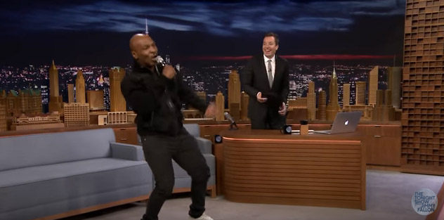 Mike Tyson, Jimmy Fallon