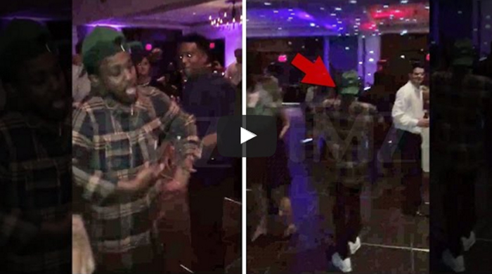 Kendrick Lamar crashes wedding,
