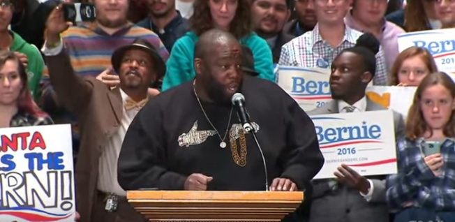 Killer Mike, Bernie Sanders