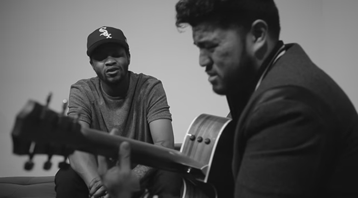 BJ the Chicago Kid, Donell Jones cover of 'Where I Wanna Be' video